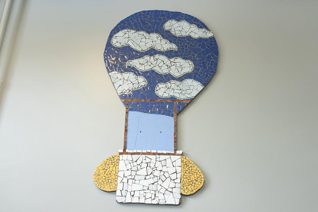Réalisation d'une mosaïque d'un puit